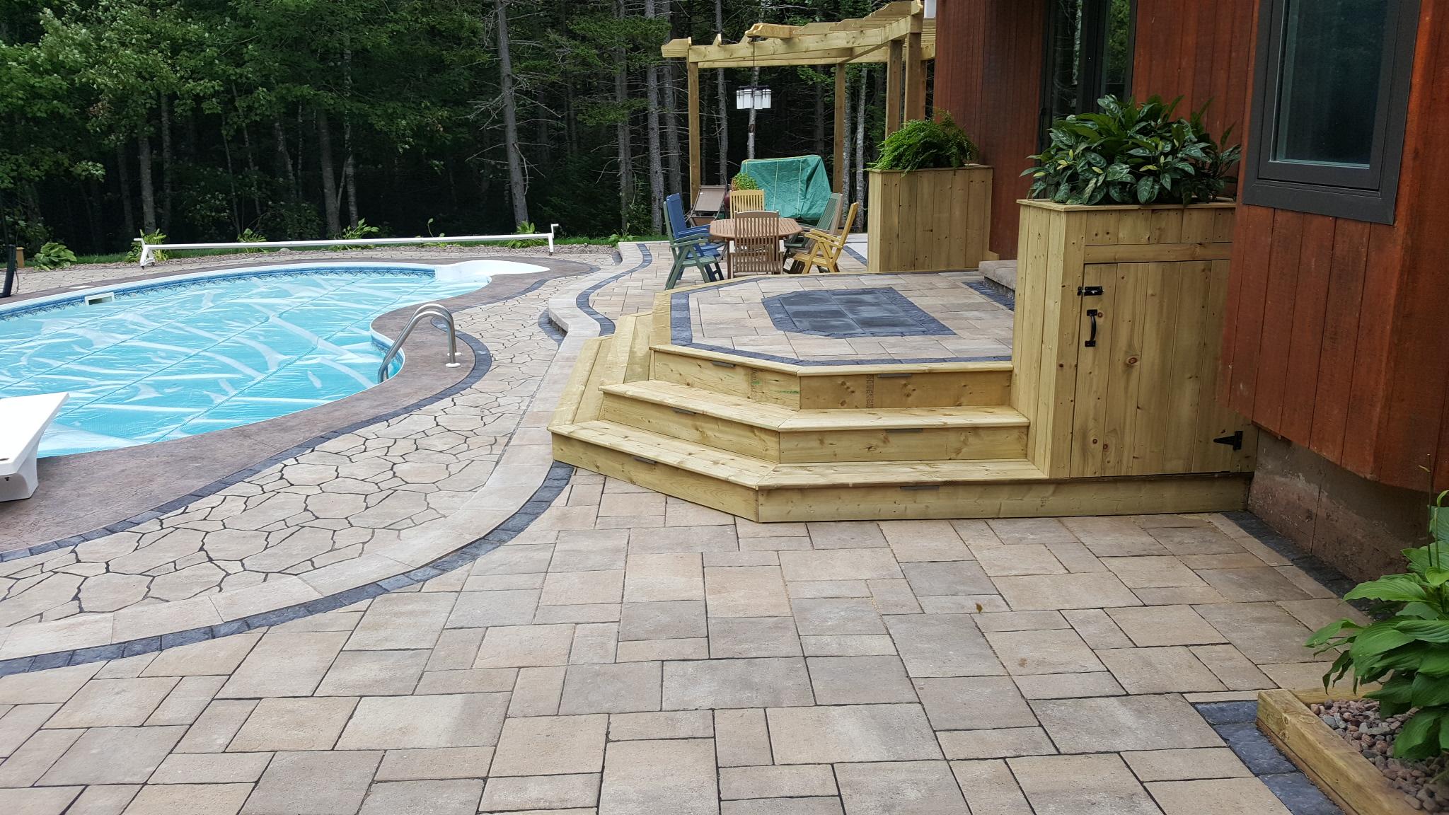 Backyard Pool Oasis 4