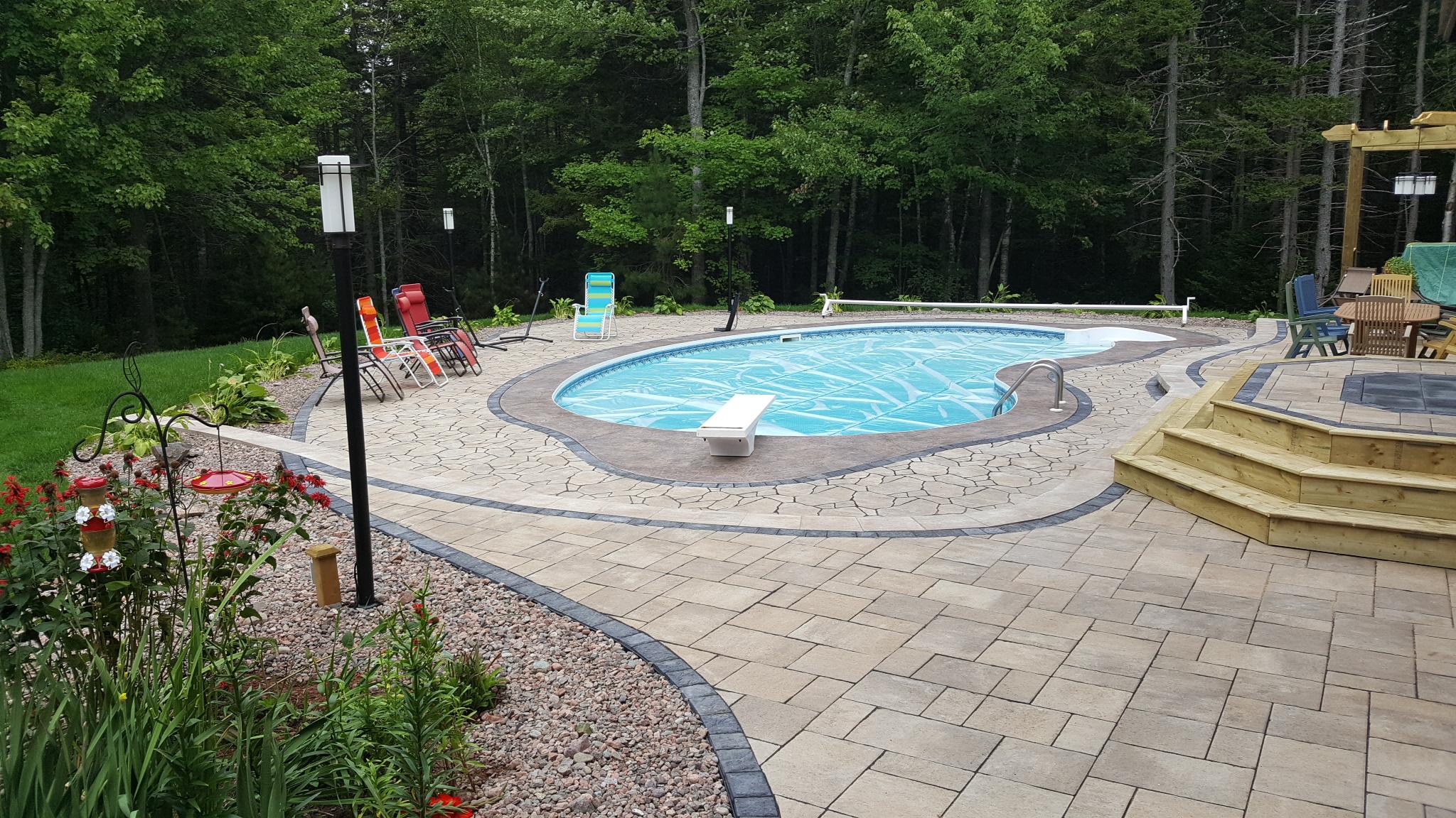 Backyard Pool Oasis 5
