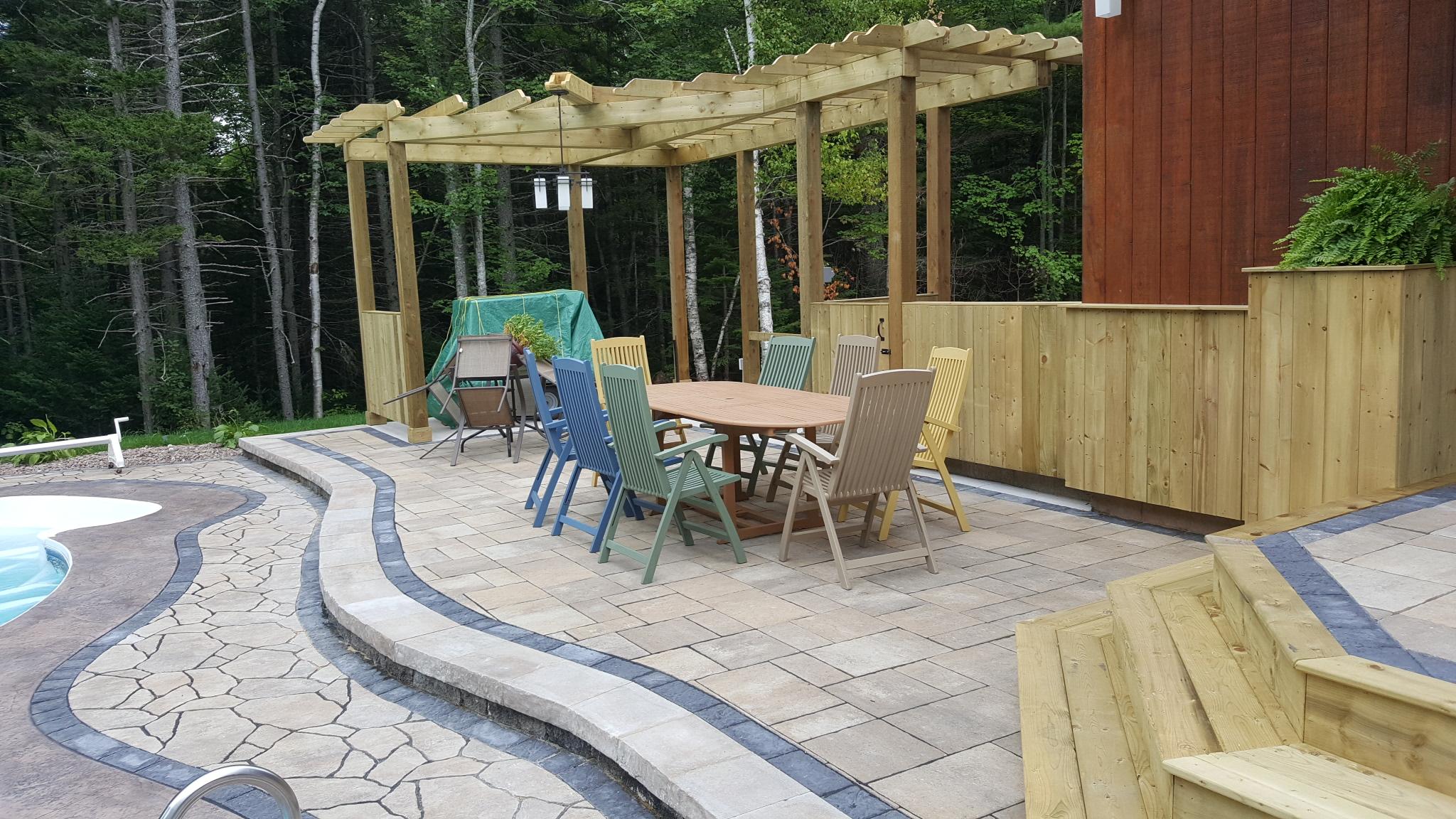 Backyard Pool Oasis 7