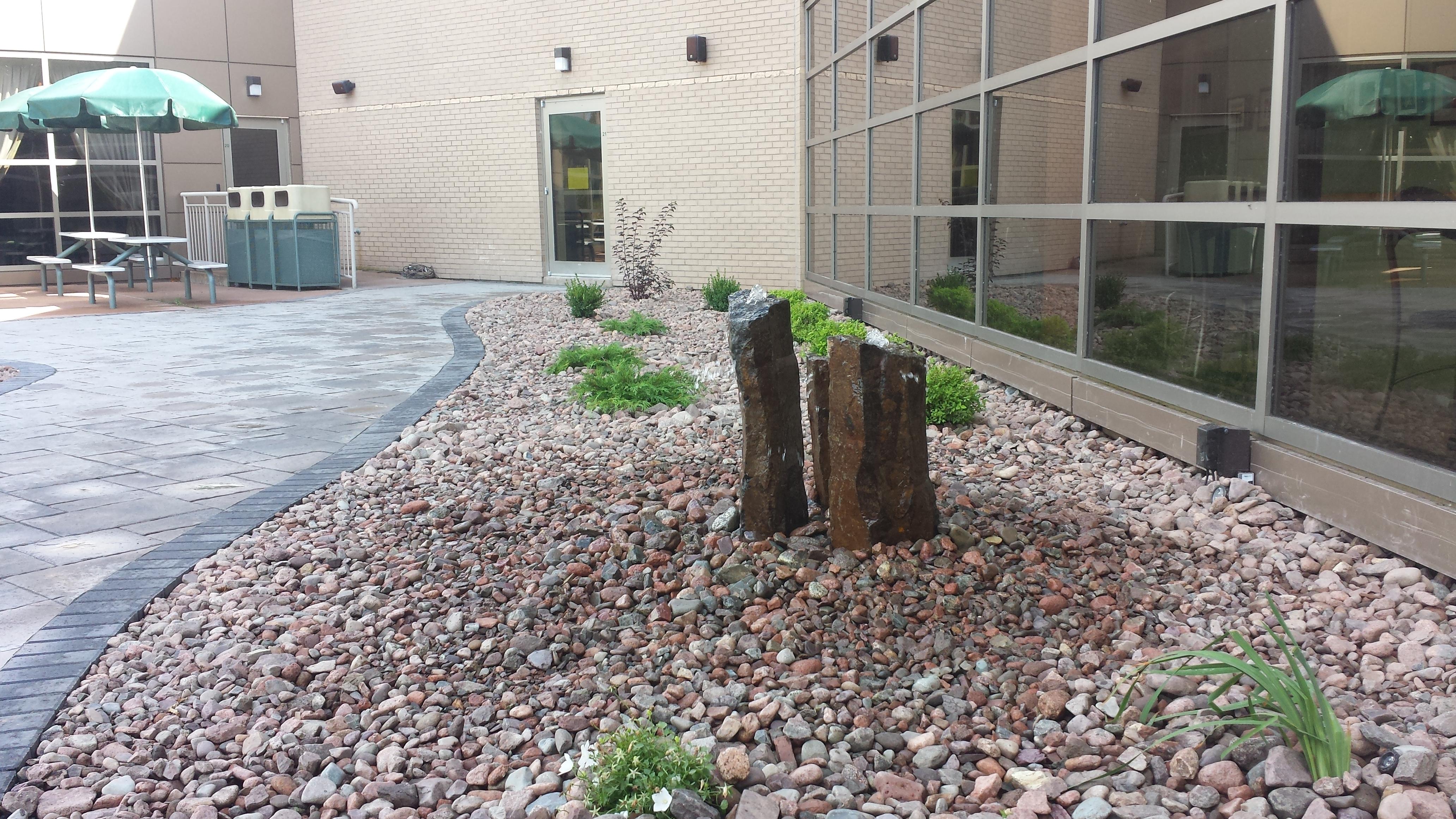 Hospital memorial garden 4