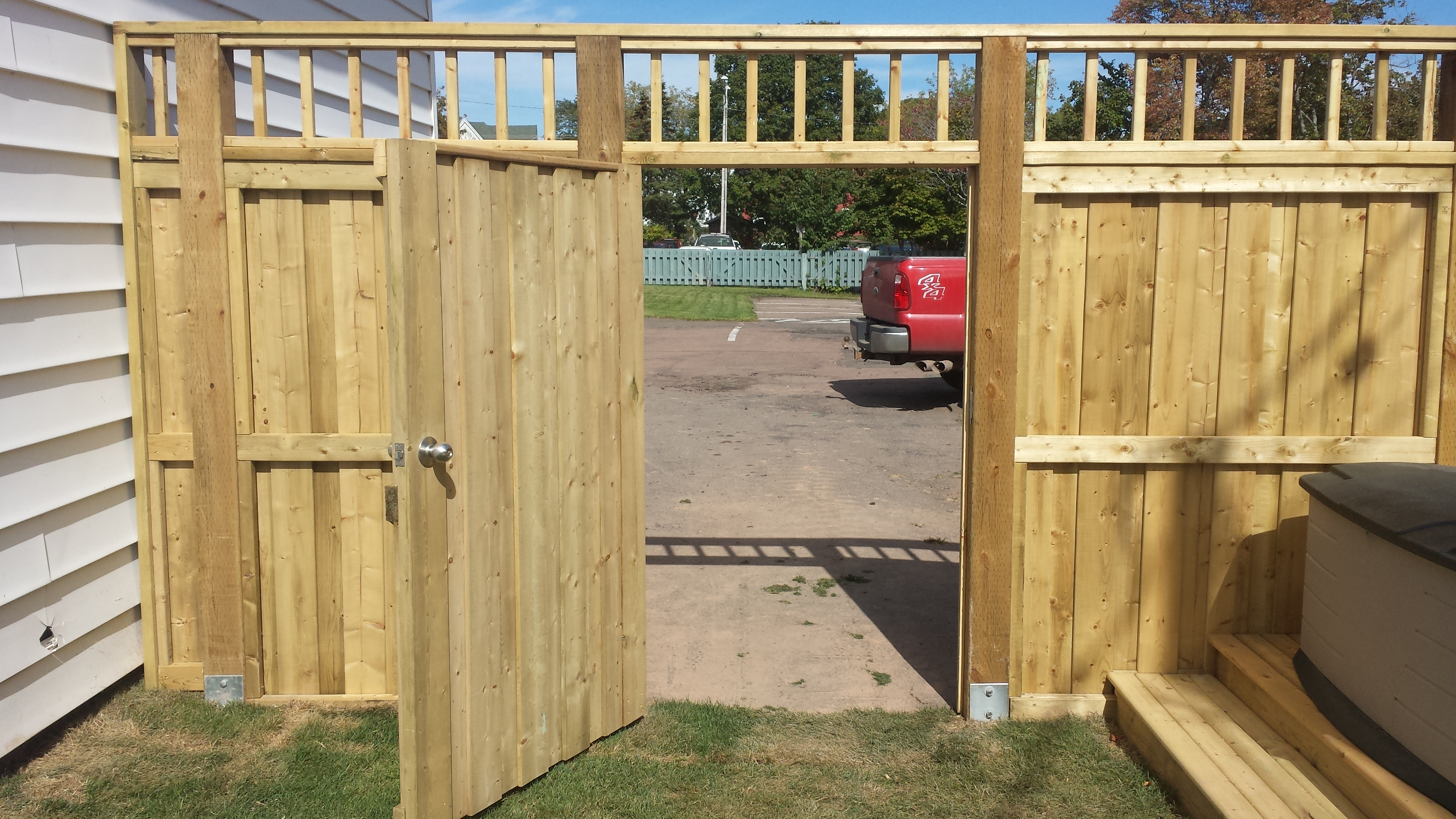 Privacy Fence Tall 2