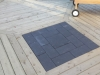 Wooden Deck Stone Interlay 2