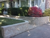 curve retaining and stone step 2
