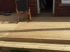 wooden deck stone interlay 3
