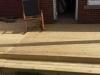 wooden deck stone interlay 3